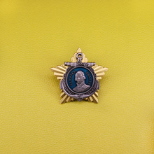 Broche de la flota rusa Ushakov vintage coleccionable para hombres regalo Patriota