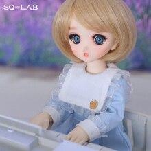 Fullset SQ Lab Chibi Ren 1/6 YoSD Lati Luts 2D LCC Girls Boys High Quality Toys Eyes Shoe Resin Figure BJD SD Doll