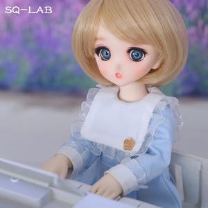 Image 1 - Fullset SQ Lab Chibi Ren 1/6 YoSD Lati Luts 2D LCC Girls Boys High Quality Toys Eyes Shoe Resin Figure BJD SD Doll
