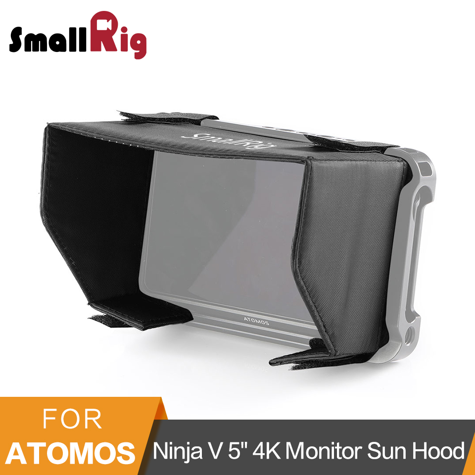 SmallRig Monitor Sun Hood for Atomos Ninja V 5 4K HDMI Recording Monitor Cage Screen Sun Shield Hood -2269SmallRig Monitor Sun Hood for Atomos Ninja V 5 4K HDMI Recording Monitor Cage Screen Sun Shield Hood -2269