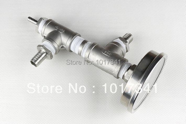 Inline-Oxygenierungsanordnung aus rostfreiem Stahl, Kegging Homebrew, - Küche, Essen und Bar - Foto 3