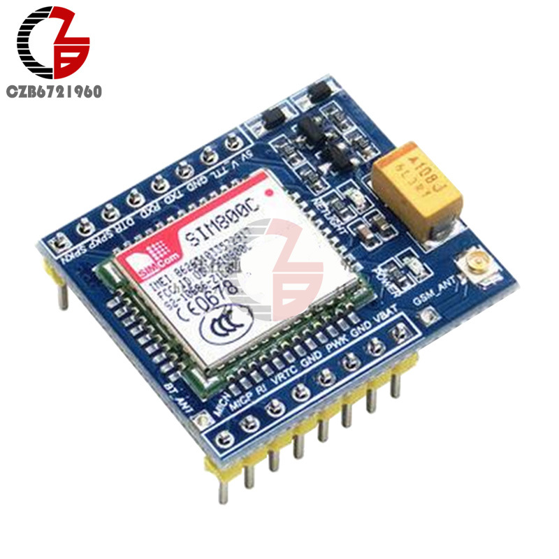 SIM800C GSM GPRS Module 5V/3 3V TTL Development Board IPEX With Bluetooth  And TTS For Arduino STM32 C51