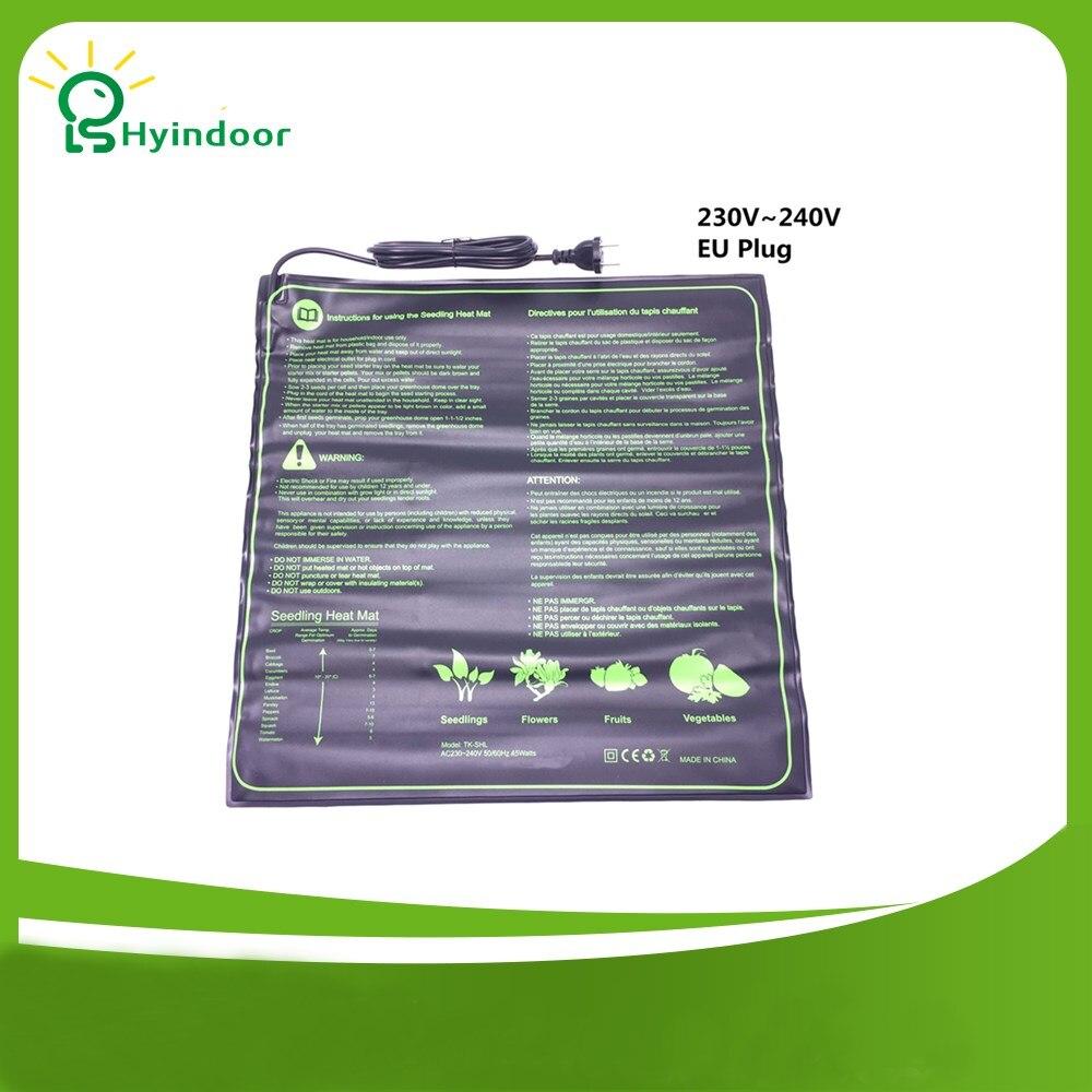 Nursery Pots Heated Seedings Mat Hydroponic Seed Starter Seeds Tray Germination Propagation Cloning Garden Supplies