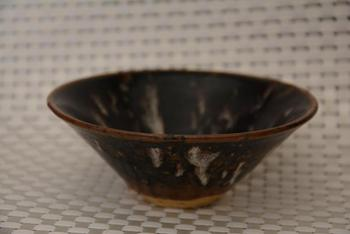 Rare Song Dynasty porcelain cup,JIZHOU Kiln,meteor glaze, best collection & adornment,#03, Free shipping