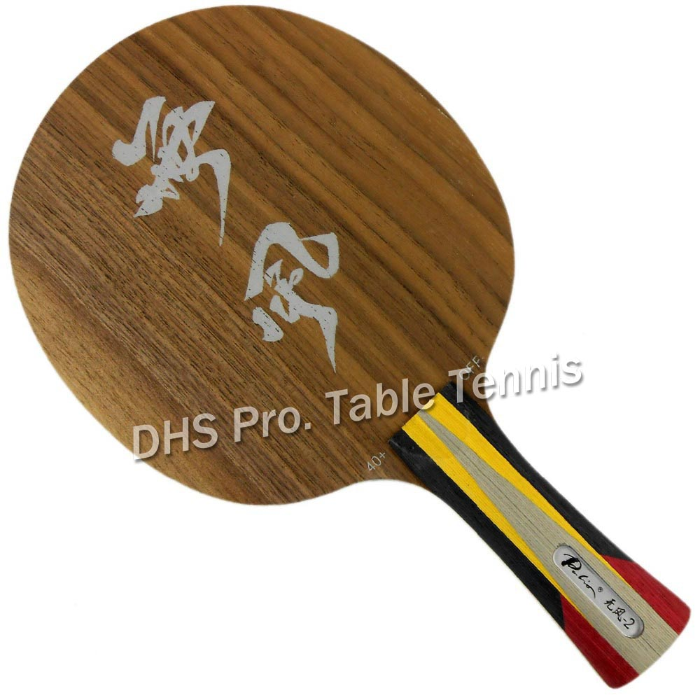 Palio official calm 02 calm 2 table tennis blade 5wood 2carbon blade fast attack with loop