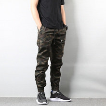 American Street Style Fashion Men's Jeans Jogger Pants Camouflage Cargo Pants Men Military Army Pants Homme Hip Hop Jeans