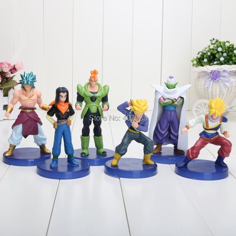 Aliexpress Buy 4 5 Dragon Ball Z Figures 1set Of