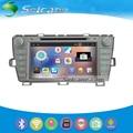 5.1.1 Seicane 8 polegada Android HD 1024*600 da Tela de Toque de Rádio GPS carro Um Sistema de a/V para 2009-2013 Toyota Prius Esquerda com leitor de DVD