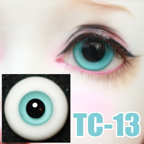 GoodQuality thin Lake-blue Glass 22MM BJD Eyes for Reborn//NewBorn BJD Doll