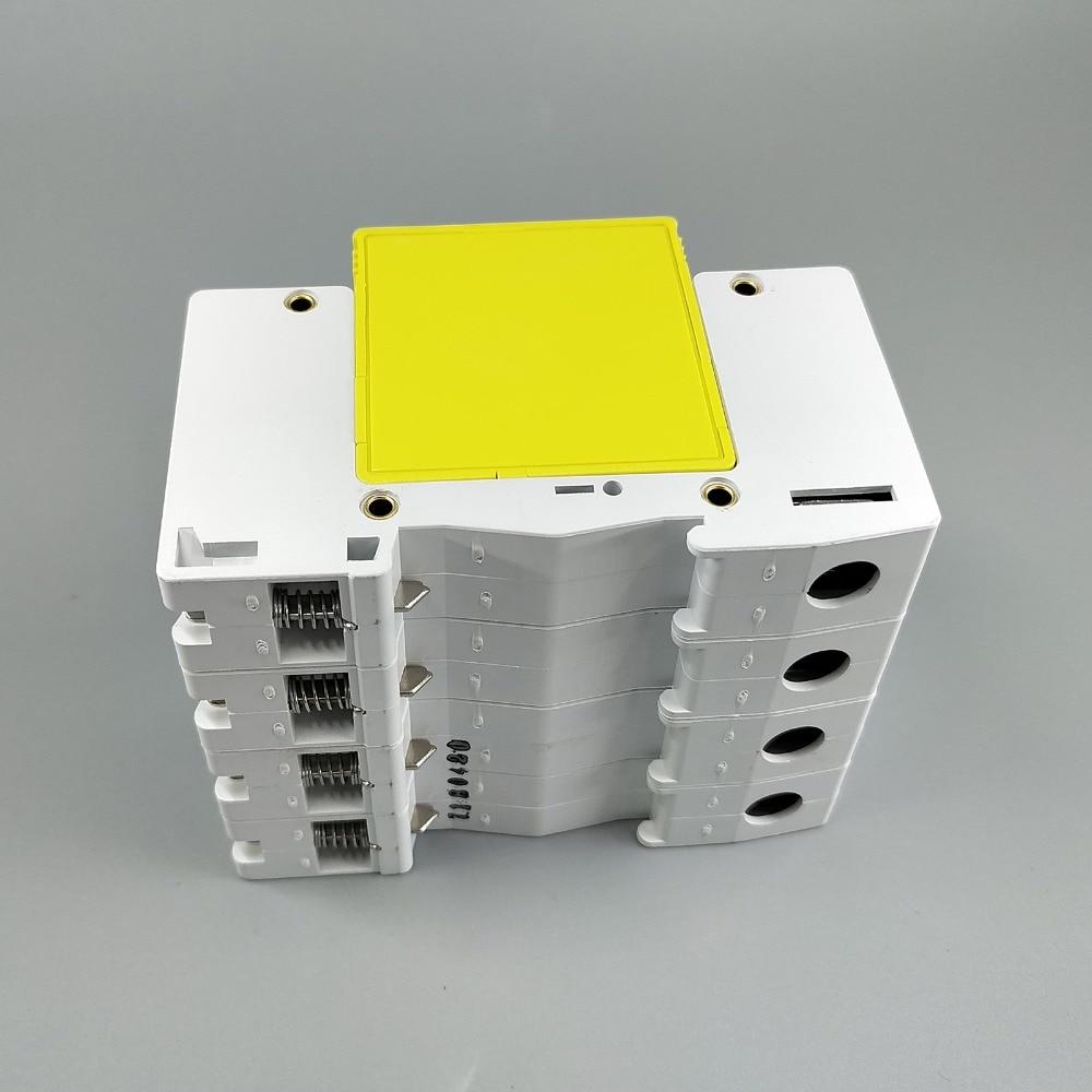 SPD 3P+N 10KA~20KA D ~385VAC House Surge Protector Protection Protective Device