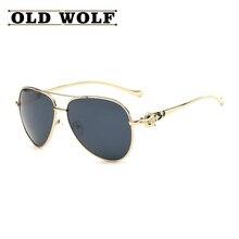 Double Bridge Sunglasses Luxury Diamond Metal Fox Logo Glasses Women 2016 Brand Designer Airman Glasses Vintage Mirror Coating