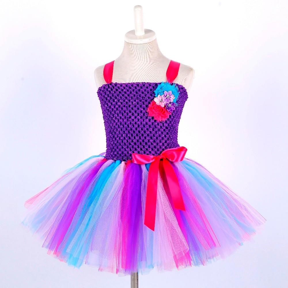 Candy Little Kids Pony Girls Clothing Teenage Unicorn Birthday Dress Knee Length Sleeveless Toddler Christmas Dress Tutu Robe 14 (3)