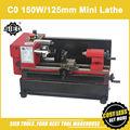 C0 mini Lathe/SIEG 150W motor+125mm working length DIY Lathe/brand Mircro metal turning machine