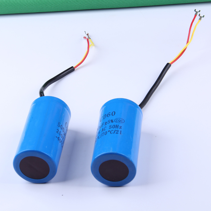 Staring capacitor 500uf heavy duty electric motor starting for 1 hp motor capacitor rating