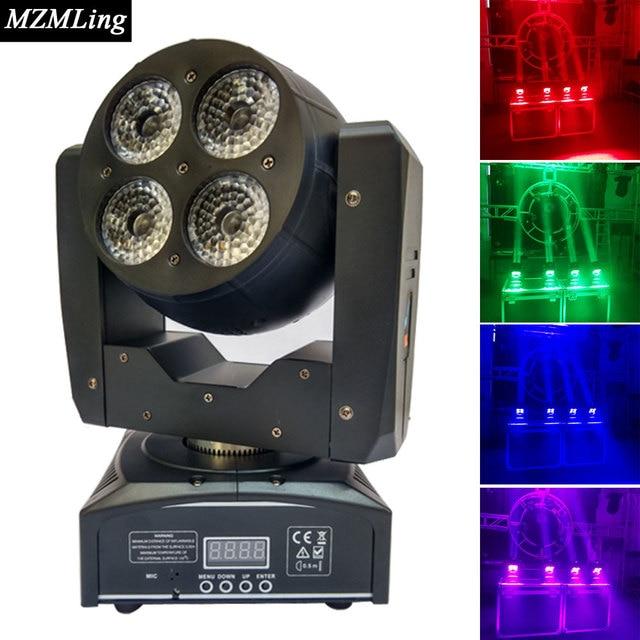 Double Sides LED 8x12w RGBW Wash Light DMX512 Moving Head Light  Professional DJ/Bar /