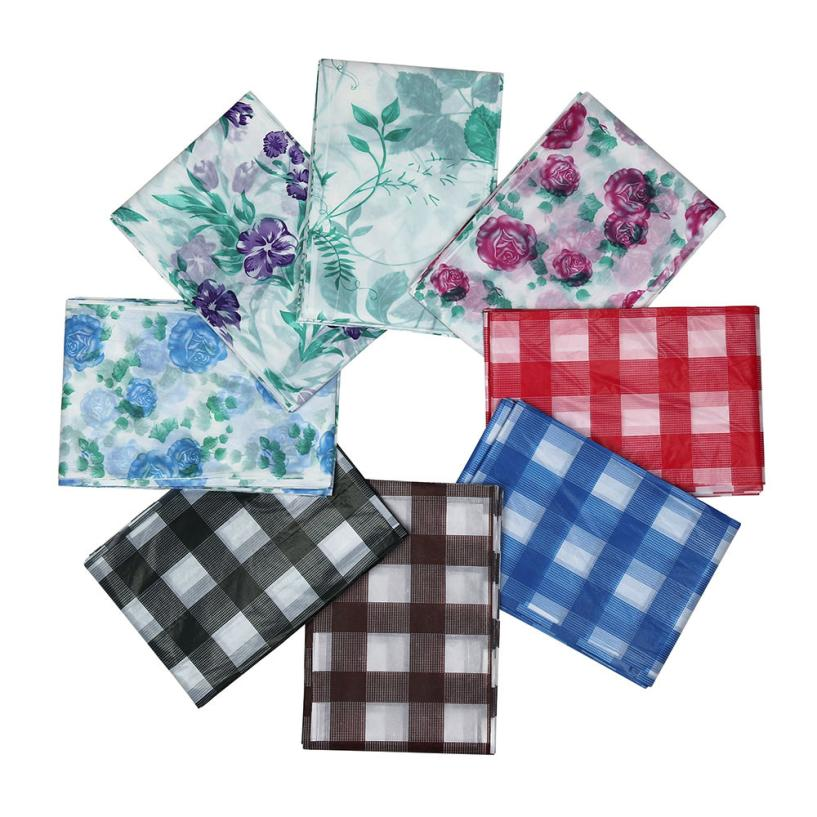 180 X 120 Cm Large Disposable Tartan Party Table Cover