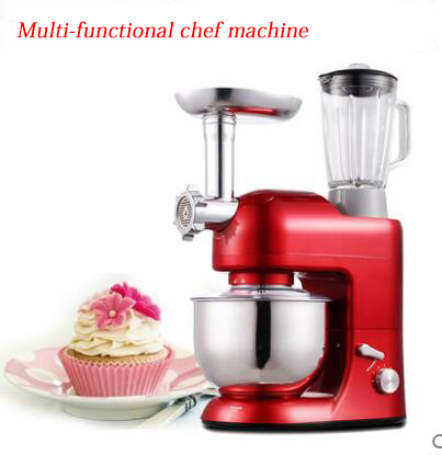 Chef machine Flour Mixer Machine Household  Multi-functional Noodle Making Machine Meat Grider  Egg Mixer Machine SM-1086S