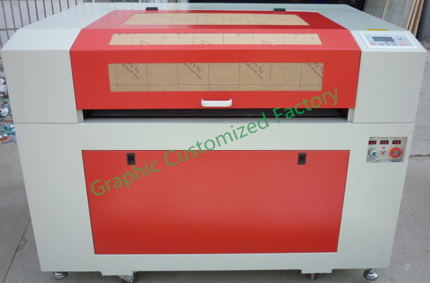 CO2 Laser Engraving Laser Cutting 6090 80w Reci Laser Tube 110V/220V  Single Head  With Honeycomb Table