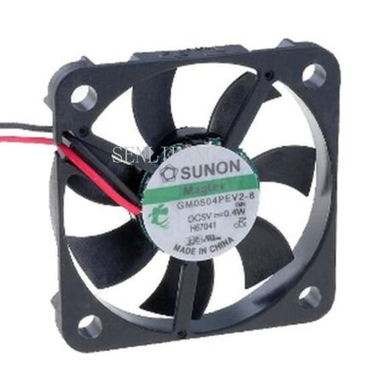 Free Shipping Cooling Fan Sunon GM0504PEV2-8 Computer Axial Cooling Fan DC 5V 0.4W 0.1A 4CM 40*40*6mm 7000RPM 3 Wires