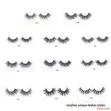 5e4aba6f4c3 Visofree Eyelashes 3D Mink Lashes Luxury Hand Made Mink Eyelashes Medium  Volume Cruelty Free Mink False Eyelashes Upper Lashes