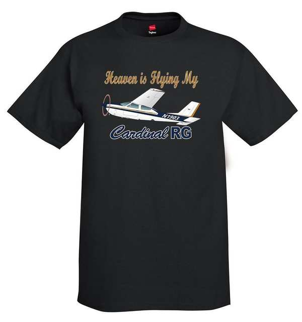 US $12 34 5% OFF|2019 Hot sale Fashion Cessna 177 Cardinal RG (Gold/Blue)  Airplane T Shirt Tee shirt-in T-Shirts from Men's Clothing on  Aliexpress com