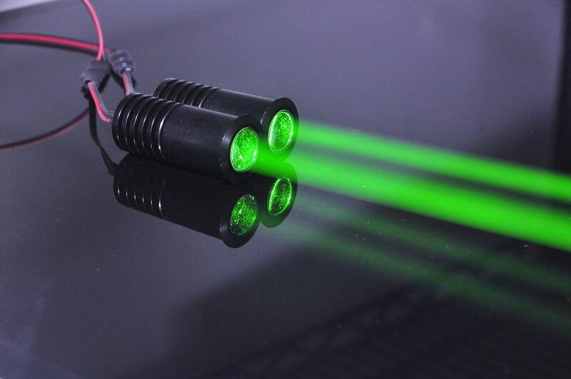 Жира луч 532nm Зеленый 50 МВт лазерный диод модуль F KTV бар DJ этап Освещение