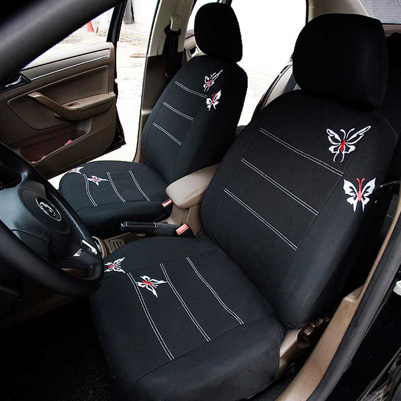 on III  2013 Black Eco-Leather Tailored Full Set Seat Covers SEAT LEON FR Mk3