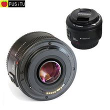 Yongnuo Lens Aperture Auto Focus EF 50mm f/1.8 AF Lens 50mm 1.8 Camera Lens for Canon EOS DSLR Cameras