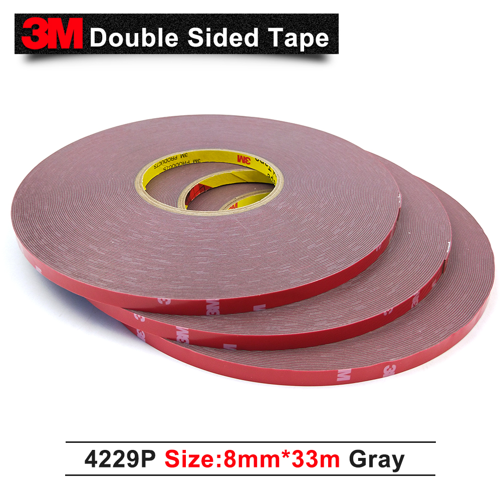 3m 4229p Auto Double Sided Acrylic Adhesive Foam Tape High