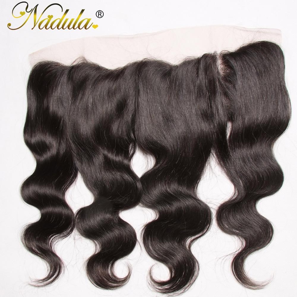 Nadula Hair 13x4 Lace Frontal Body Wave Hair   Hair s 100%  s Closure 10-20INCH 3