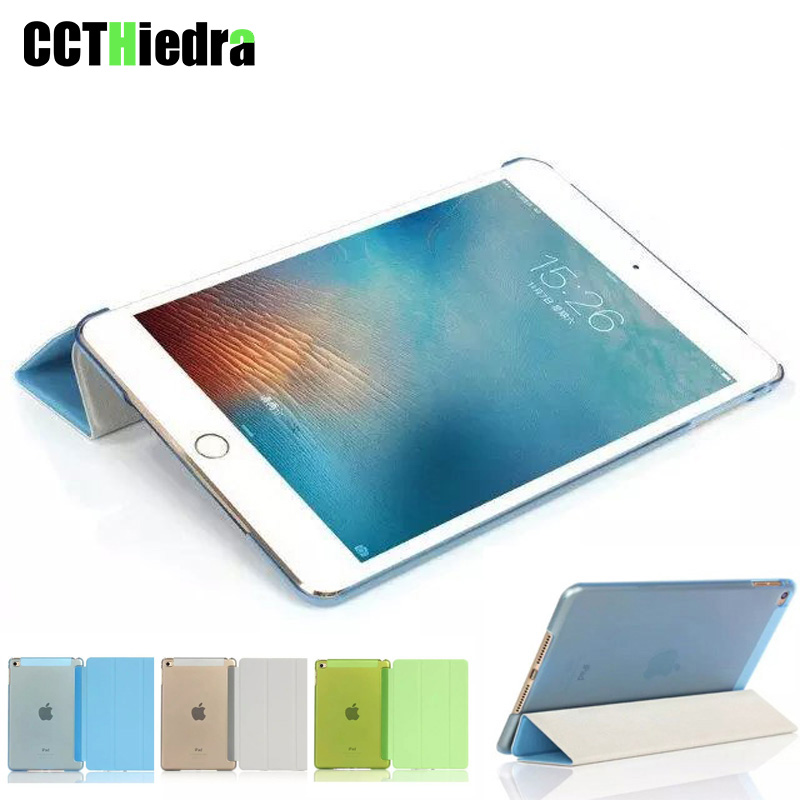 For Apple iPad Air 1 Smart Case 5 Stand Ultra Thin PU Leather Cover Case For iPad 5 Auto Sleep/Wake up Function Covers 9.7''