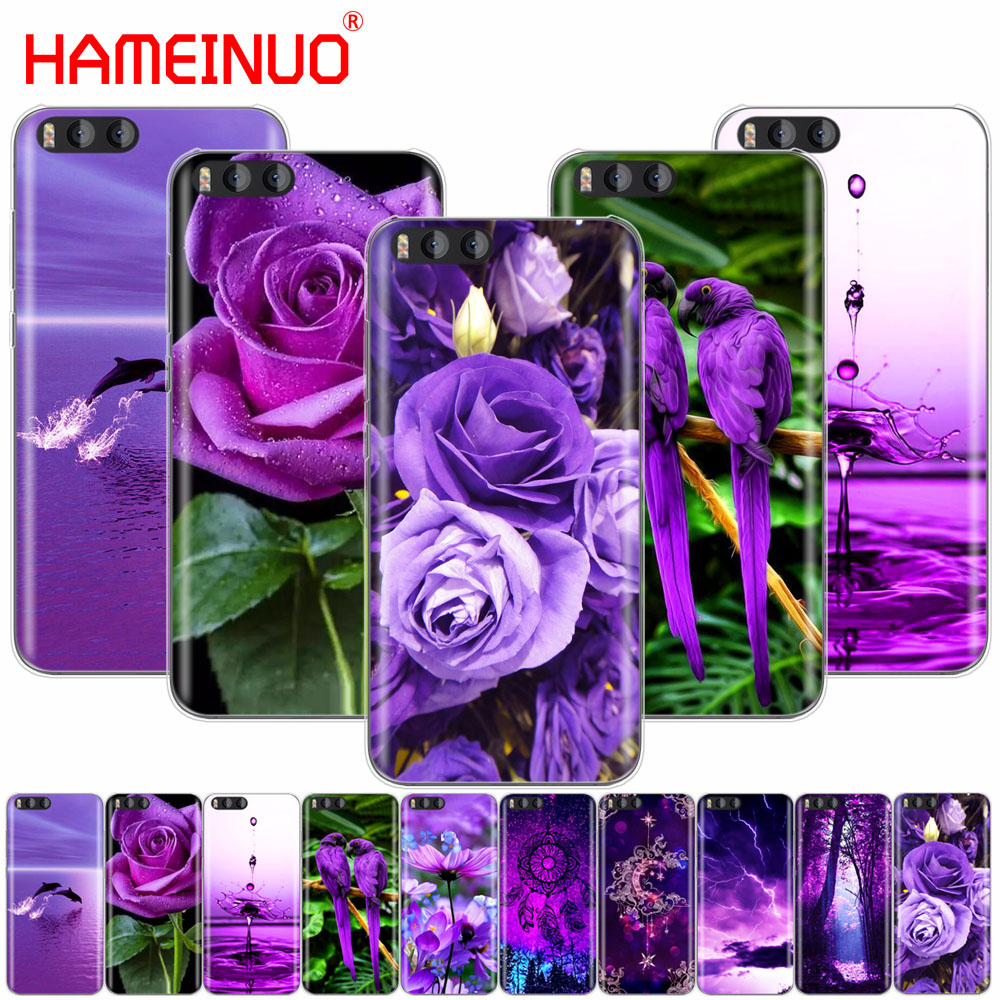 HAMEINUO infinity on purple Cover Case for Xiaomi Mi A1 A2 3 4 5 5S 5C 5X 6 6X 4S 4I 4C NOTE MAX 2 mix plus