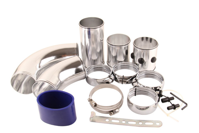 Adjustable Universal Air Intake Pipe/Universal five stage aluminum alloy intake pipe Kit