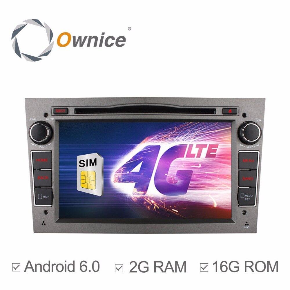 4g SIM LTE Quad Core Android 6.0 Lecteur DVD de Voiture pour Opel Vectra Zafira A B C Corsa Astra meriva Antara Vivaro Tigra GPS Radio