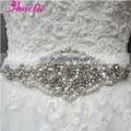Shinning Wedding dress belt  wedding sash crystal beaded beautiful wedding dress waistband