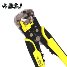 цена на JX1301 Cable Wire Stripper Cutter Crimper Automatic Multifunctional TAB Terminal Crimping Stripping Plier Tools