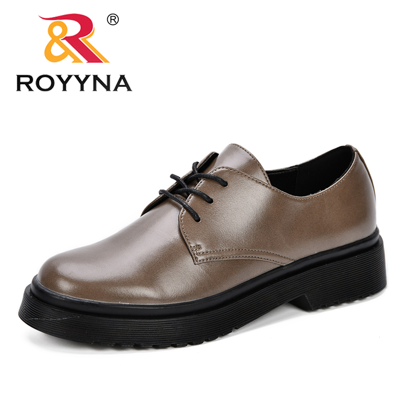 Bureau Red 2019 forme rose Coréenne Black Femme Plate Chaussures Talons Robe Moyennes Classique Casual Royyna Oxford Bas Dames gray Grey Pompes Femmes Partie dark Ybf6gv7y