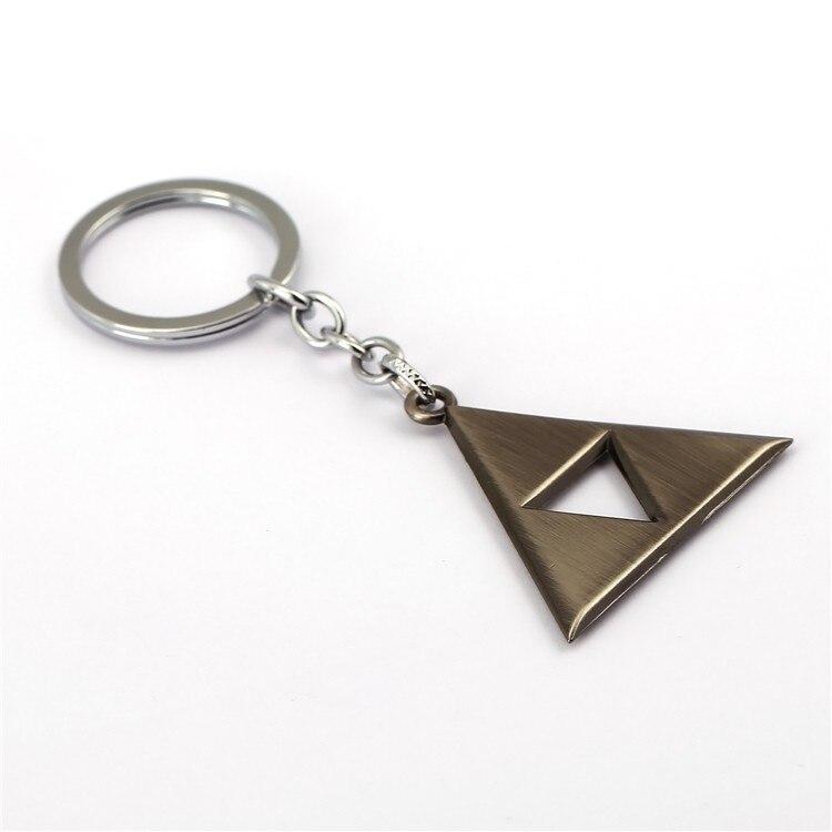 ୧ʕ ʔ୨Julie juego la leyenda de Zelda Llavero Power triforce ...