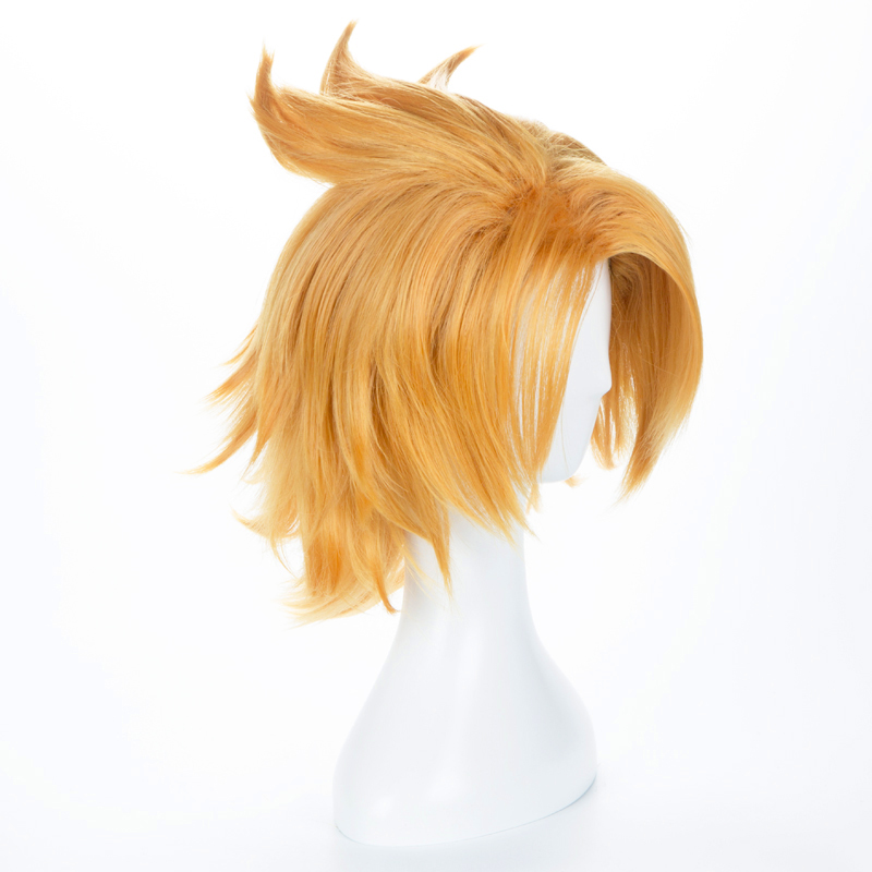 Image 2 - Boku no Hero Academia Kaminari Denki Wig Cosplay Costume My Hero Academia Men & Women Short Synthetic Hair Party Role Play Wigs-in Anime Costumes from Novelty & Special Use