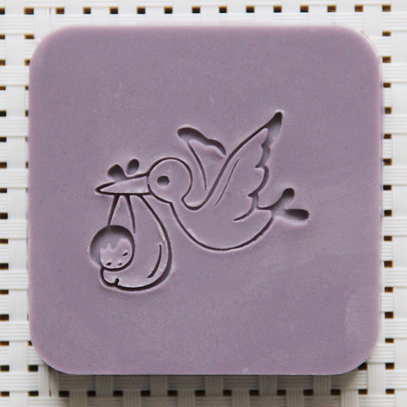 2016 free shipping natural handmade acrylic soap seal stamp mold chapter mini diy bird patterns organic glass 4X4cm 0114 japanese korea stationery portable mini roller secrecy stamp garbled seal graffiti seal teacher secrecy stamp