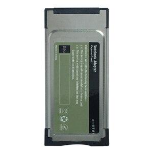 Image 4 - Prezzo di fabbrica!!! 2 pz Express Card Expresscard Adattatore lettore di schede ad alta velocità Utral 34mm supporta SD SDHX scheda di memoria SDXC