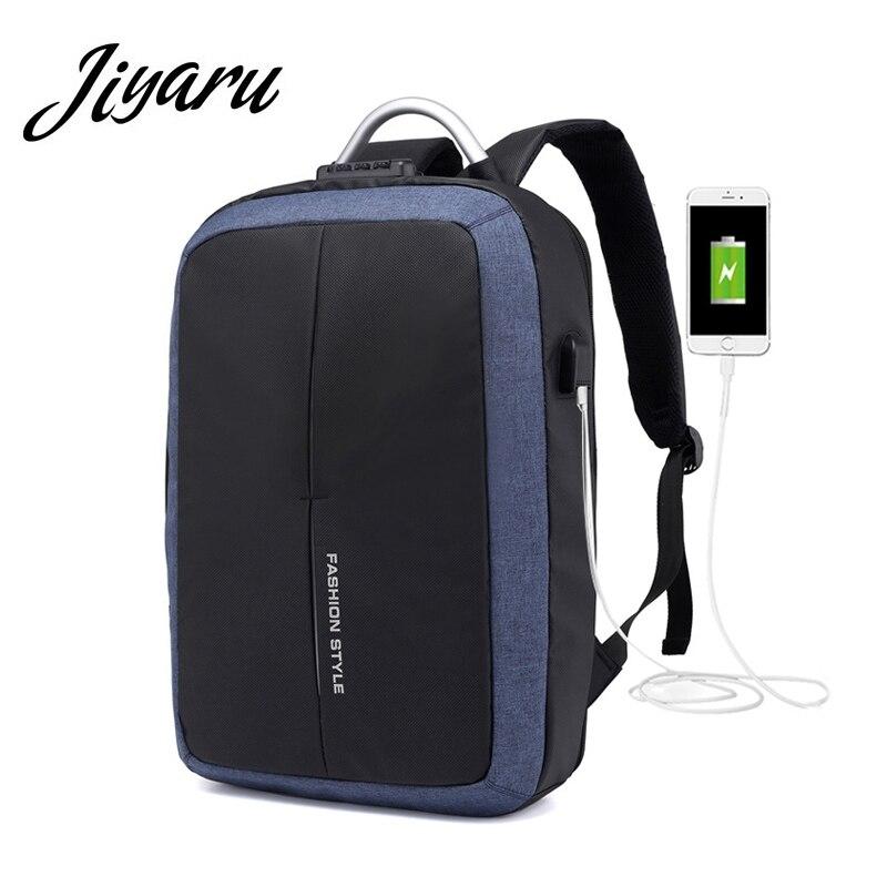 USB Backpacks for Man Laptop Notebook Bags for Male USB Charging Port Men Backpacks Student School Backpacks Men Travel Bags