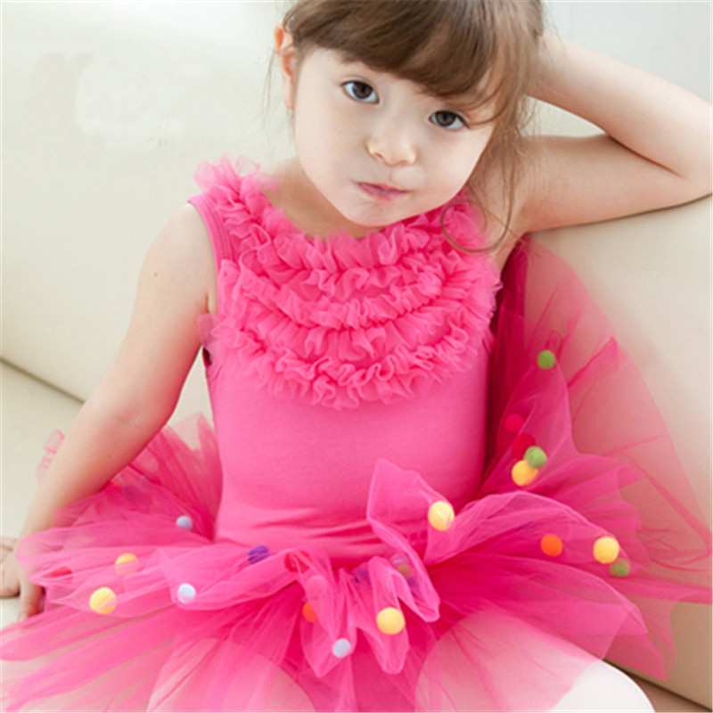 931a6c8e0 Cute Ballet Tutu Dancewear For Girls Clothes Dancing Dresses Costumes  Toddler Leotard Professional Tutus Ballerina Dress Kids