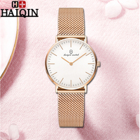 Women Watch HAIQIN 2019 NEW Top Luxury Ladies Dress Gold Watch Women Metal Waterproof Sports Fashion Wristwatch Reloj Mujer