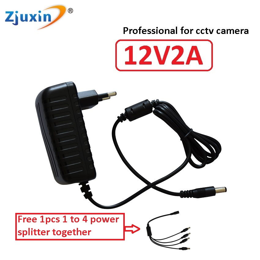 Zjuxin 12V2A switching power supply input:100-240VAC 50/60 Hz 12v2a power supply output: 12V2000mA adapter 12V2 apower router yj 100 240vac input 32v 6a adapter output switching power supply adapter for tda7498 amplifier