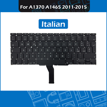 10pcs/Lot A1370 A1465 Laptop Replacement Keyboard Italian Layout for Macbook Air 11 inch IT Italy Keyboard 2011-2015 Year