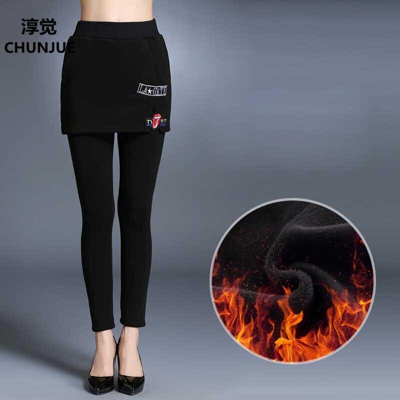 Plus SizeL 5XL Woman Capris font b Legging b font New Fashion Winter Style Casual Dress