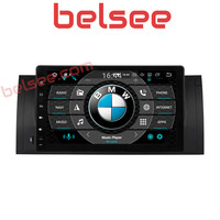 Belsee for BMW E39 X5 E53 M5 Android 9.0 Octa Core Car Radio 4GB Stereo Bluetooth GPS Navigation Unit Autoradio WiFi Mirrorlink