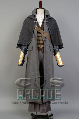 Bloodborne The Hunter Set Sexy Costume Jacket Coat Outfit Suit