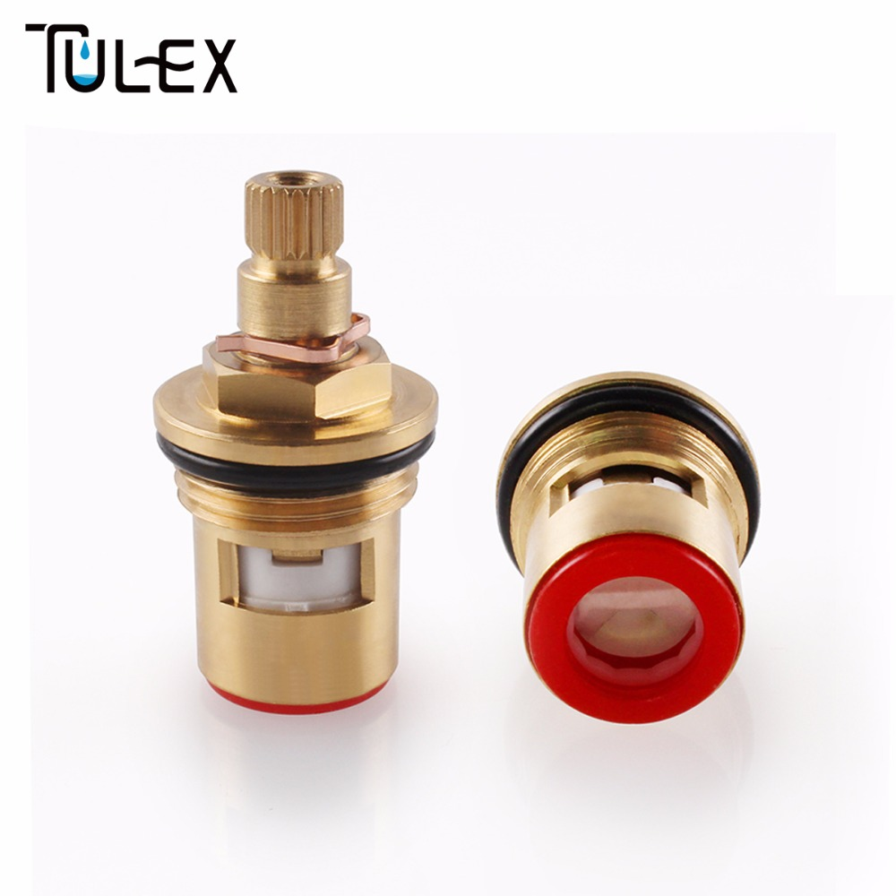 High Standard Ceramic Disc Cartridge Water Mixer Tap Inner Faucet Valve Quarter Turn The Best Price 40mm ceramic disc cartridge inner faucet valve water mixer tap y05 c05